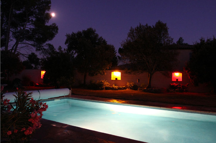 location villa piscine provence
